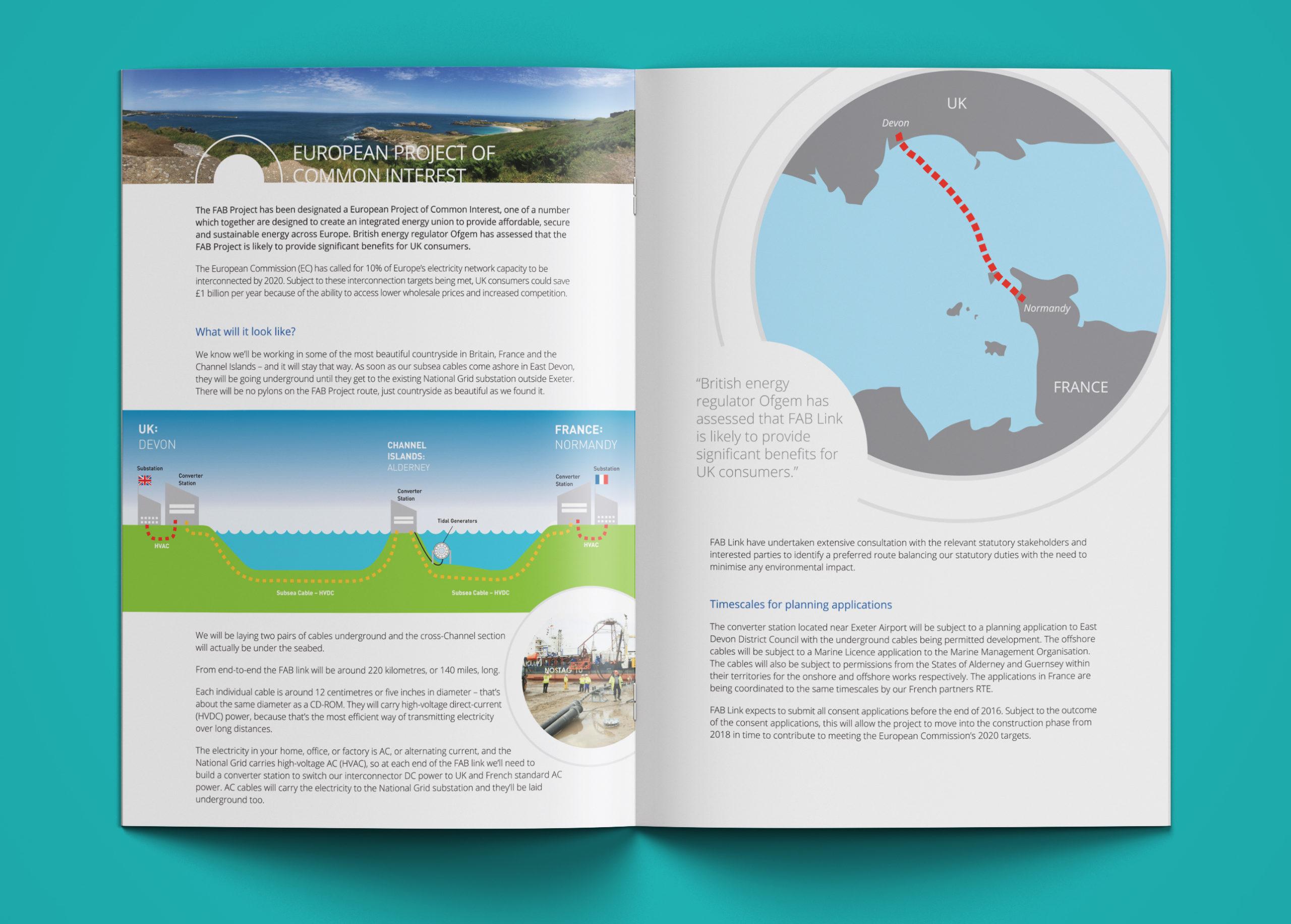FABlink brochure spread