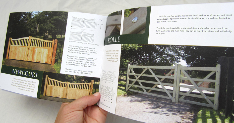 clinton gates brochure spread