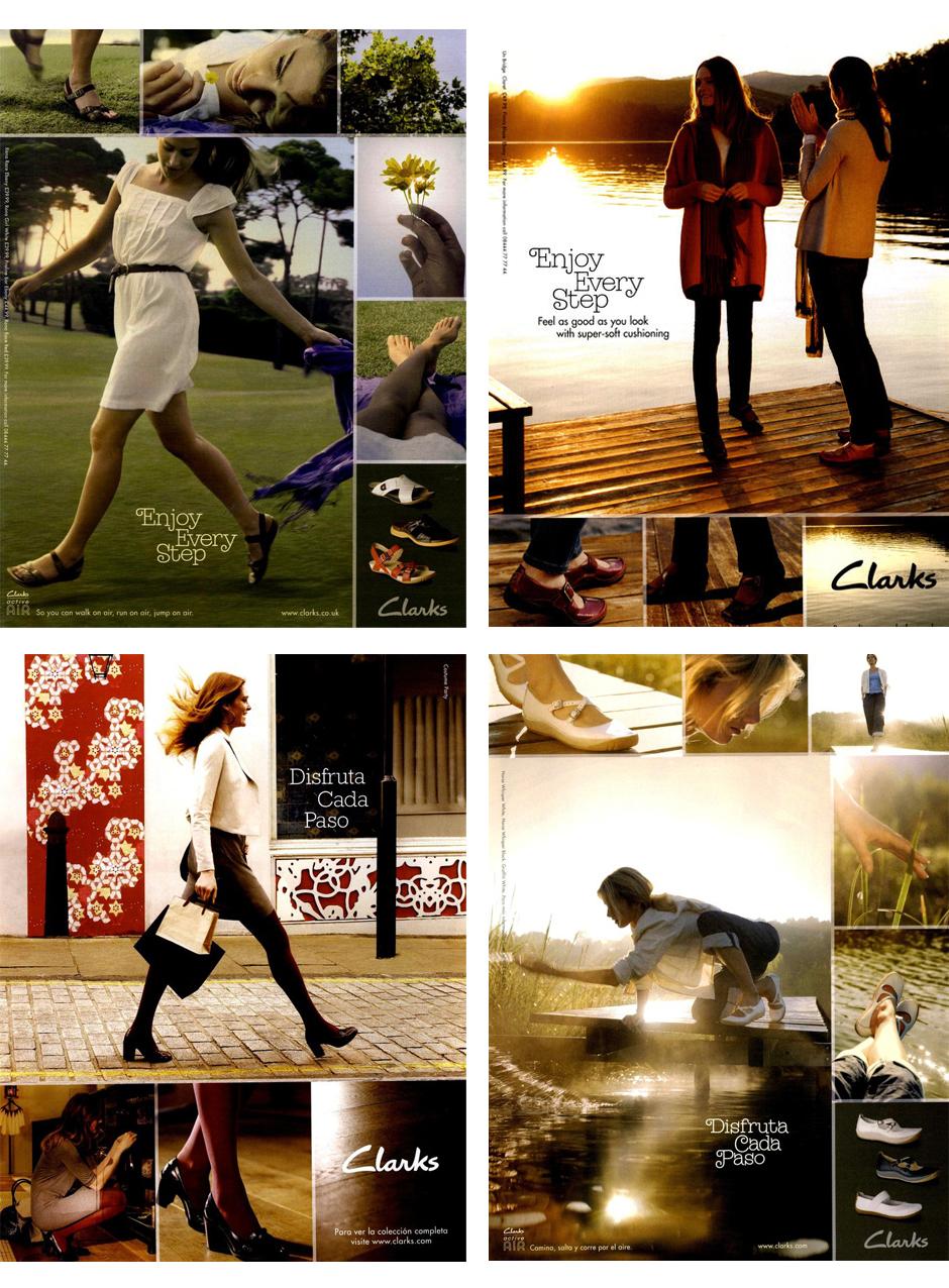 clarks ads