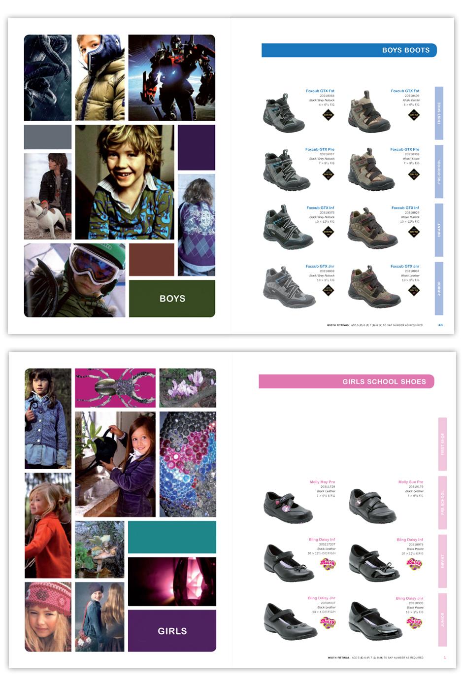 clarks kids catalogue