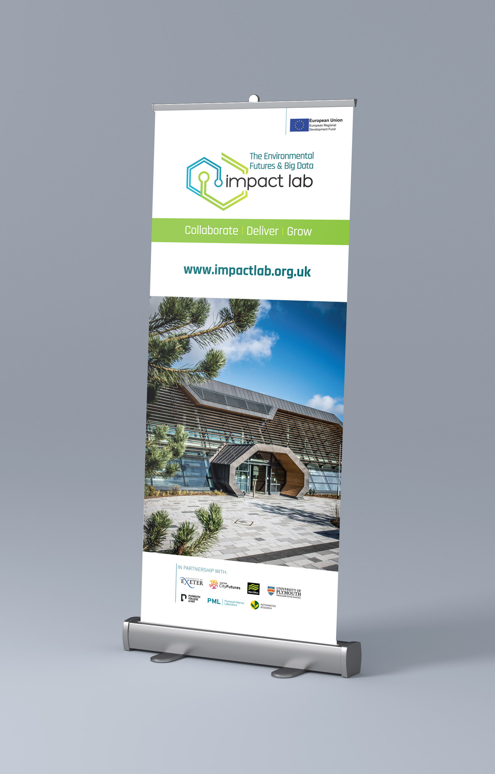 Imapct Lab roller banner