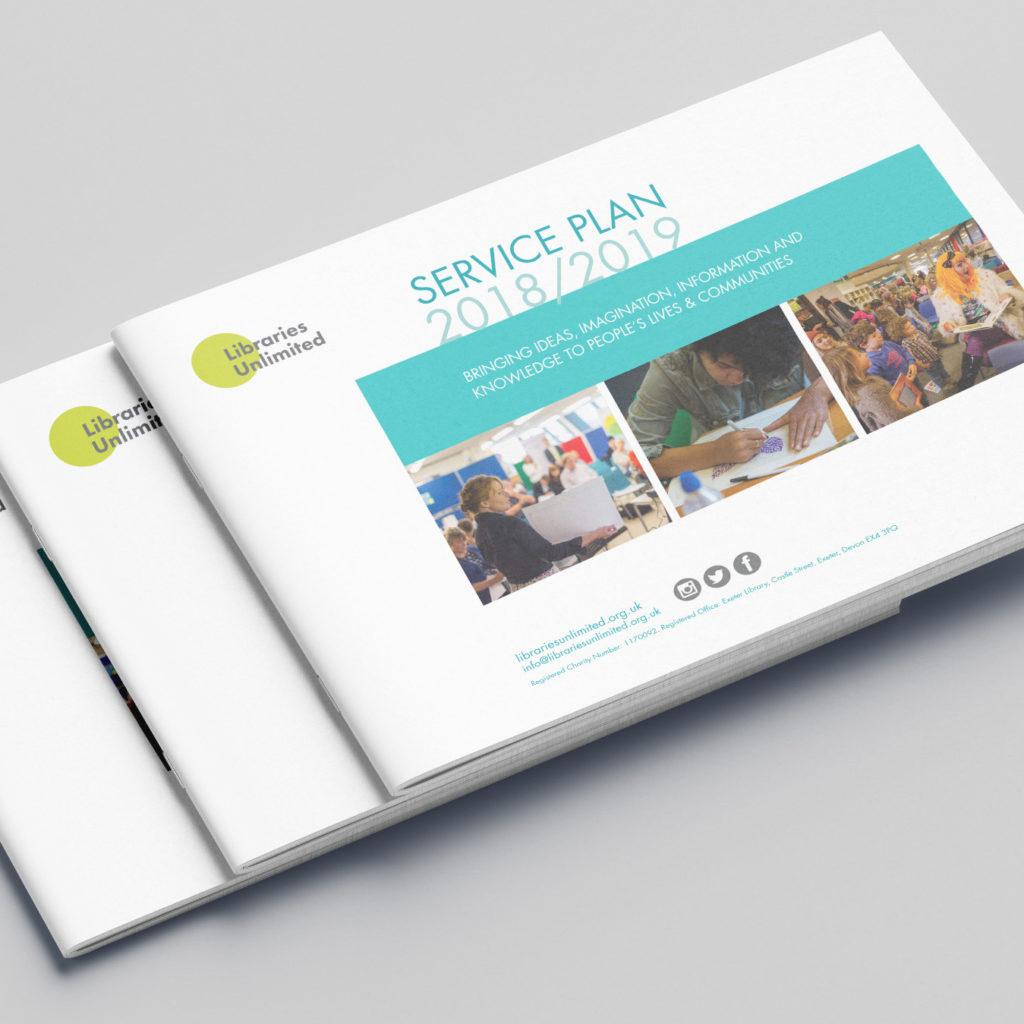 Libraries Unlimited landscape brochure